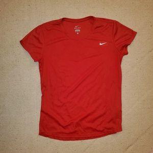 Nike Red Drifit ♻️ Recycled T Shirt Medium